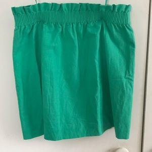 Sea foam green Jcrew skirt